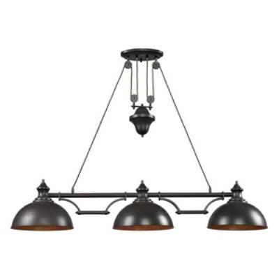 Elk Lighting 65151-3-LED Farmhouse - Three Light Island
