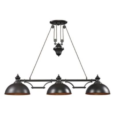 Elk Lighting 65151-3 Farmhouse - Three Light Island