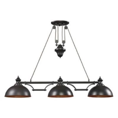 Elk Lighting 65151-3 Farmhouse - Three Light Island