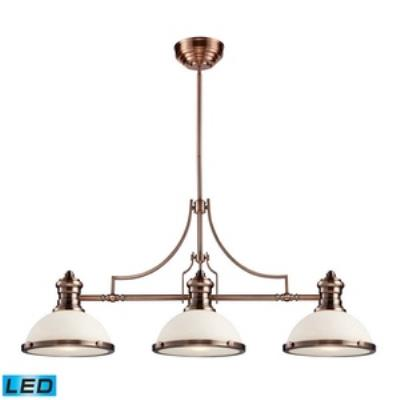 Elk Lighting 66245-3-LED Chadwick - Three Light Island