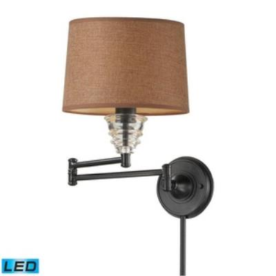 Elk Lighting 66814-1-LED One Light Swing Arm Wall Mount