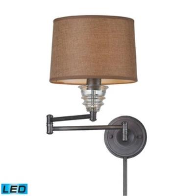 Elk Lighting 66824-1-LED One Light Swing Arm Wall Mount