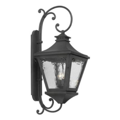 Elk Lighting 6712-C Manor - Three Light Outdoor Wall Sconce