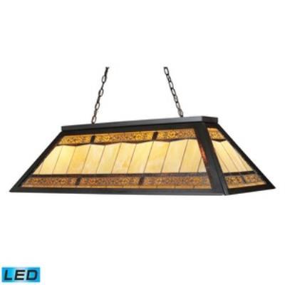 Elk Lighting 70113-4-LED Stone Filigree - Four Light Island