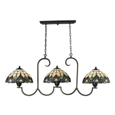 Elk Lighting 70120-3 Gameroom - Three Light Island