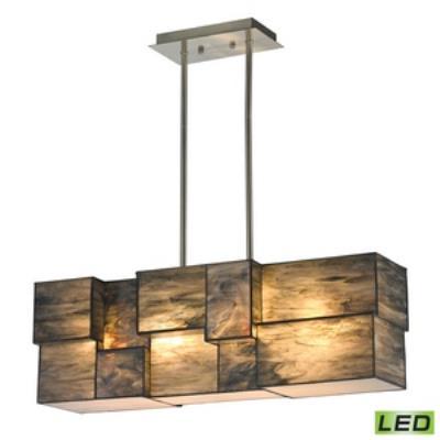 """Elk Lighting 72073-4-LED Cubist - 27"""" LED Chandelier"""