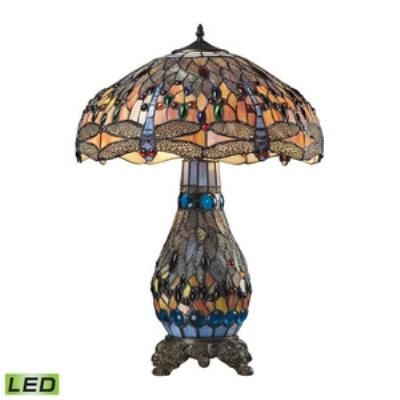 Elk Lighting 72079-3-LED Dragonfly - Two Light Table Lamp