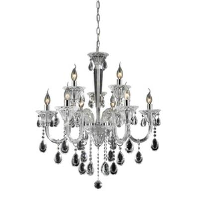 Elk Lighting 80003/6+3 Formont - Nine Light Crystal Chandelier