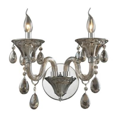 Elk Lighting 80020/2 Formont - Two Light Crystal Wall Sconce