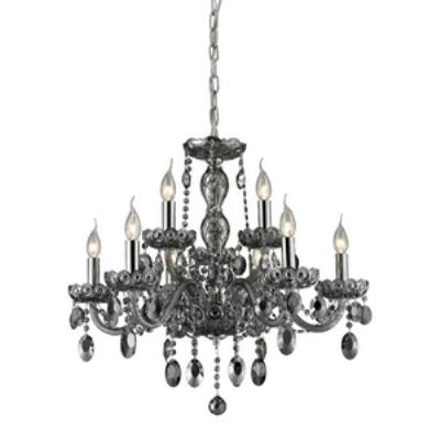 Elk Lighting 80043/6+3 Balmoral - Nine Light Crystal Chandelier