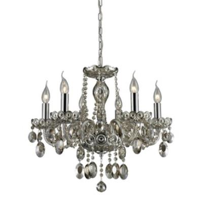Elk Lighting 80052/6 Balmoral - Six Light Crystal Chandelier