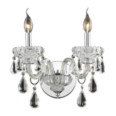 Elk Lighting 80060/2 Cotswold - Two Light Crystal Wall Sconce