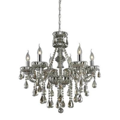 Elk Lighting 80082/6 Cotswold - Six Light Crystal Chandelier