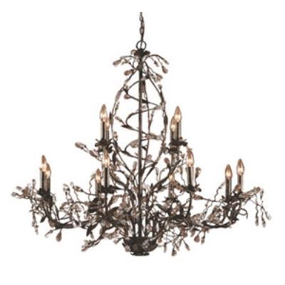 Elk Lighting 8055/8+4 Circeo - Twelve Light Chandelier