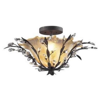 Elk Lighting 8059/2 Circeo - Two Light Semi Flush Mount