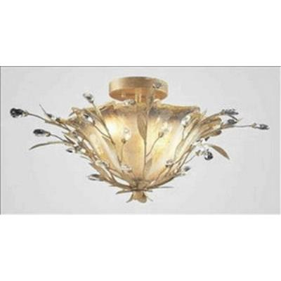 Elk Lighting 8069/2 Circeo Vetro - Two Light Semi Flush Mount