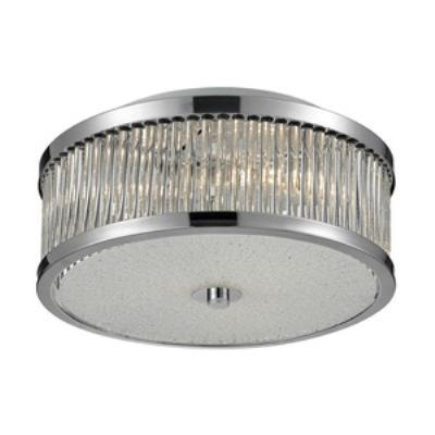 Elk Lighting 81040/3 Amersham - Three Light Flush Mount