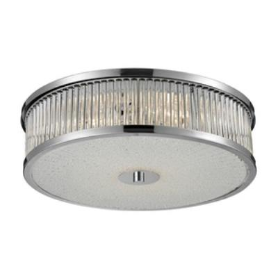 Elk Lighting 81041/4 Amersham - Four Light Flush Mount