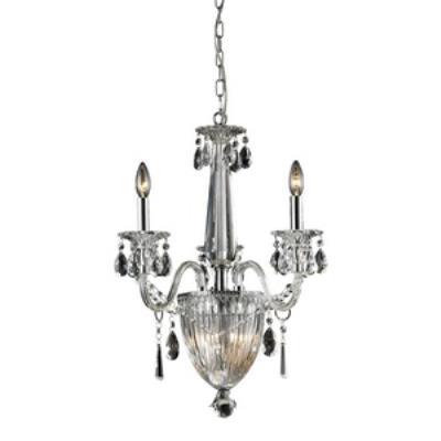 Elk Lighting 82011/3+3 Banburgh - Six Light Crystal Pendant