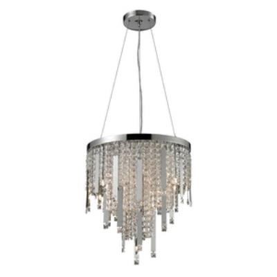 Elk Lighting 82045/10 Kingsford - Ten Light Crystal Pendant