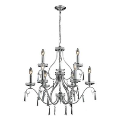 Elk Lighting 82056/6+3 Sherbourne - Nine Light Crystal Pendant