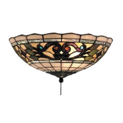 Elk Lighting 990-D Tiffany Buckingham - Two Light Fan Bowl Only