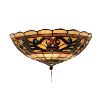 Elk Lighting 990-E Tiffany Buckingham - Two Light Fan Bowl Only