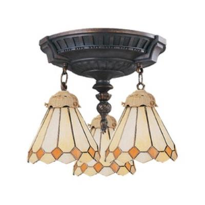 Elk Lighting 997-AW-05 Mix-N-Match - Three Light Semi-Flush Mount