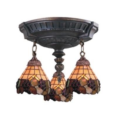 Elk Lighting 997-AW-07 Mix-N-Match - Three Light Semi-Flush Mount