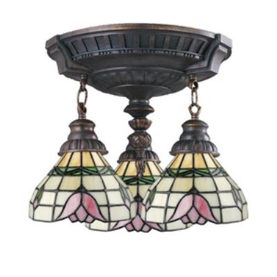 Elk Lighting 997-AW-09 Mix-N-Match - Three Light Semi-Flush Mount