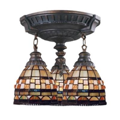Elk Lighting 997-AW-10 Mix-N-Match - Three Light Semi-Flush Mount