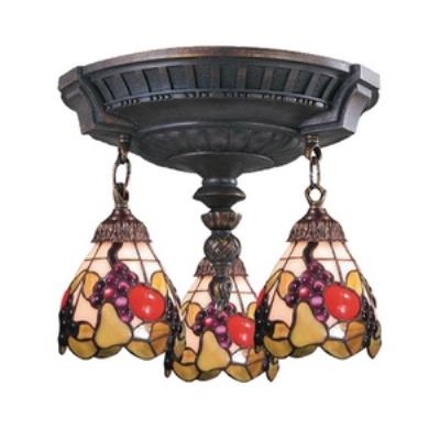 Elk Lighting 997-AW-19 Mix-N-Match - Three Light Semi-Flush Mount