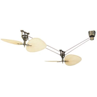 "Fanimation Fans FP1280AB-P1-S2 Brewmaster - 48"" Short Neck Ceiling Fan (2 Fan Kit)"