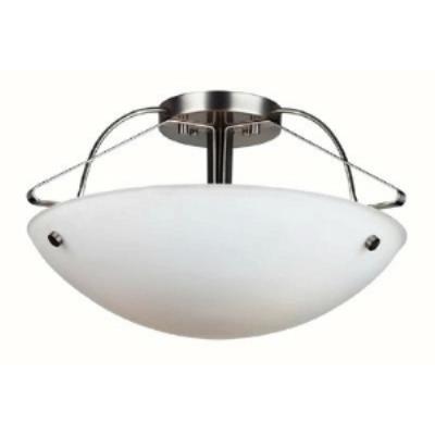 Forecast Lighting F1686-36 Orb - Three Light Semi-Flush Mount