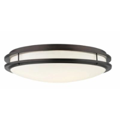 Forecast Lighting F2458-70U Cambridge - Fluorescent Two Light Flush Mount