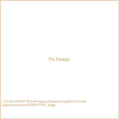 Forecast Lighting FQ0001035 Crete blue glass shade