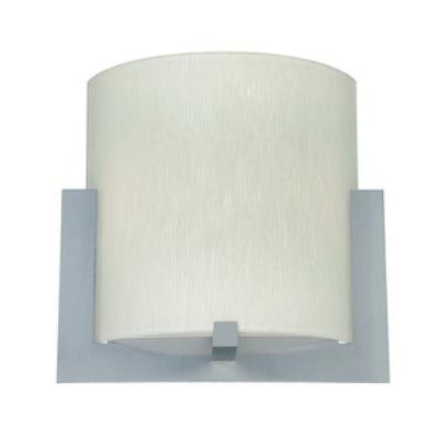 Forecast Lighting FQ0032060 Bow white textured glass shade