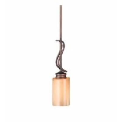 Golden Lighting 1051-M1L SBZ Hidalgo - One Light Mini-Pendant