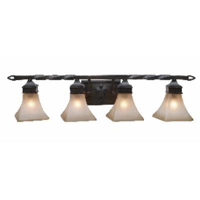 Golden Lighting 1850-BA4 RT Genesis -  Four Light Vanity