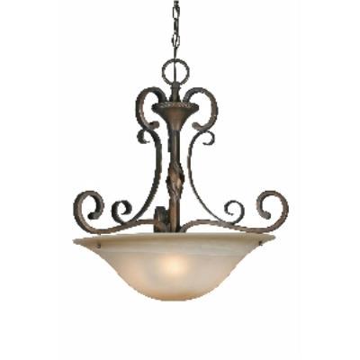 Golden Lighting 3890-3P GB Pendant Bowl
