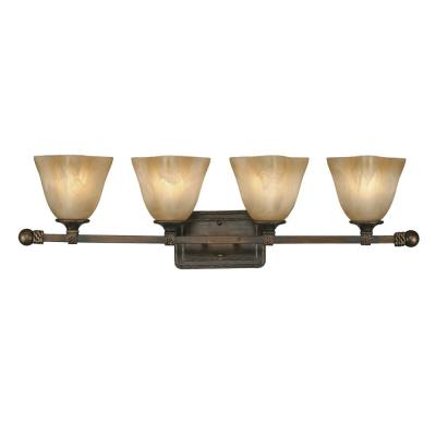 Golden Lighting 3890-BA4 GB 4 Light Vanity