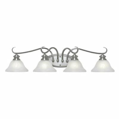 Golden Lighting 6005-BA4 PW 4 Light Vanity