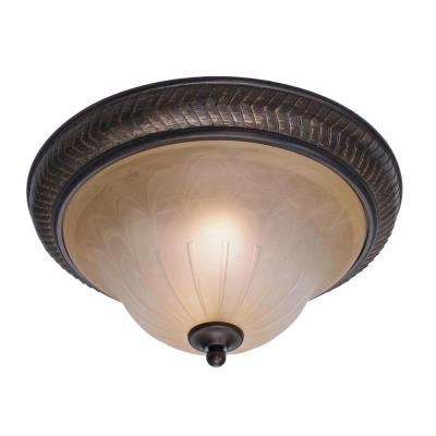 "Golden Lighting 6029-FM EB 15"" Flush"