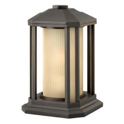 Hinkley Lighting 1397BZ-GU24 Castelle - One Light Pier Mount