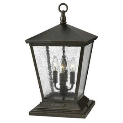 Hinkley Lighting 1437RB Trellis - Four Light Pier Mount