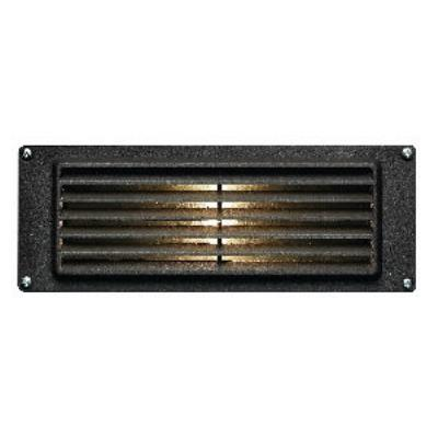 "Hinkley Lighting 1594BZ-LED Louvered - Low Voltage 8.8"" 3.8W 1 LED Landscape Brick Light"