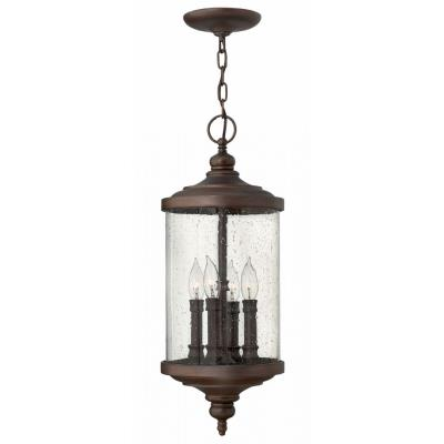 Hinkley Lighting 1752VZ Barrington - Four Light Outdoor Hanger