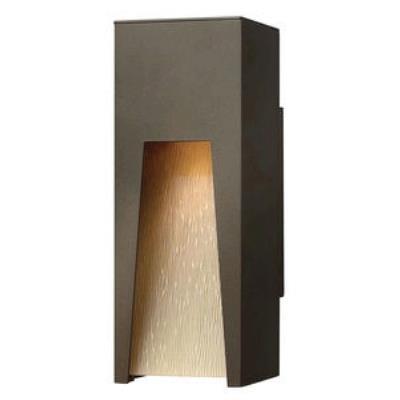 Hinkley Lighting 1760BZ-LED Kube - LED Small Outdoor Wall Mount