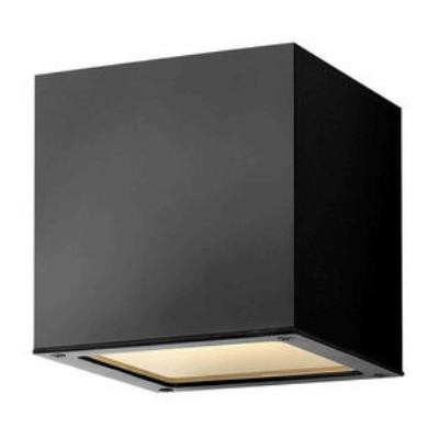 Hinkley Lighting 1766SK-GU24 Kube - One Light Small Outdoor Wall Mount