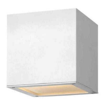 Hinkley Lighting 1766SW-GU24 Kube - One Light Small Outdoor Wall Mount